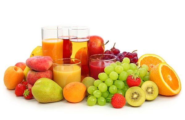 fruit juice most healthy vegetables and fruits